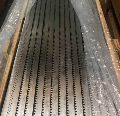 M2 20x20x2000mm C45 straight gear rack